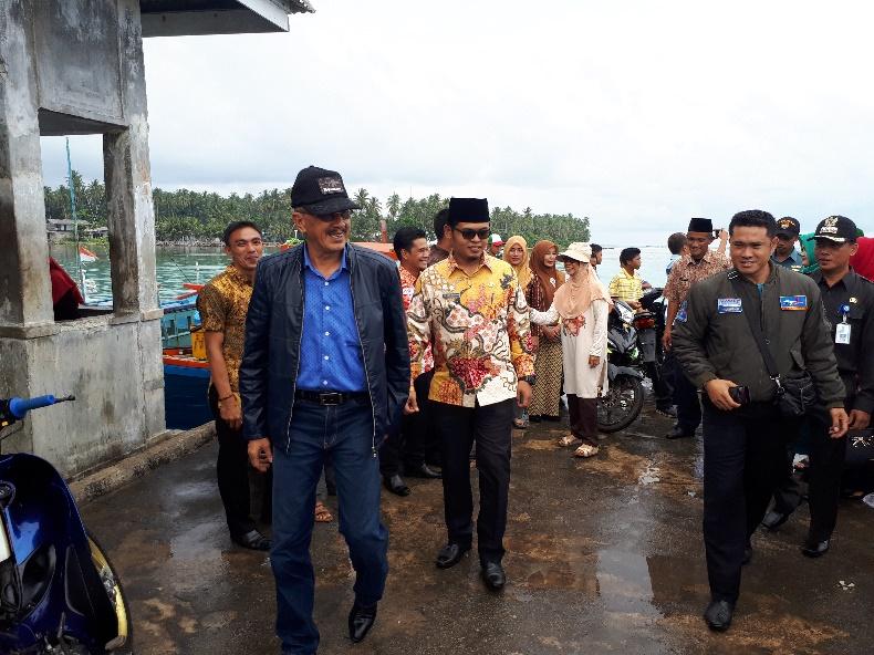 Kunjungan Kerja Bupati Natuna di Midai Tahun 2018