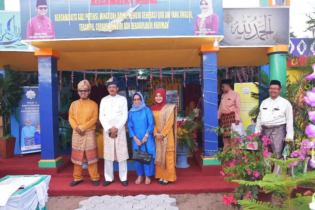 Kegiatan MTQ ke 9 Kabupaten Natuna di Bunguran Timur Laut tahun 2018